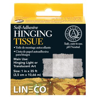 LINECO Hinging-Tissue, self-adhesive , 10m-roll