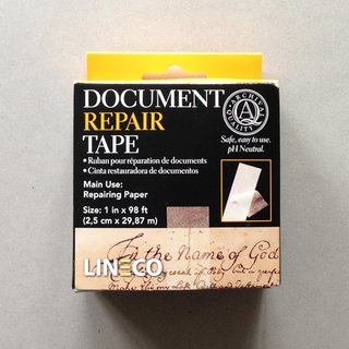 LINECO DOCUMENT REPAIR TAPE, selbstklebend