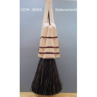 198 054 Ushibake - Beater brush, bamboo, natural brown, 14 cm-wide